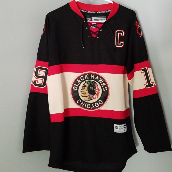 retro blackhawks jersey